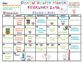And Here Is A Sampling Of Some Dental Health Month Activities