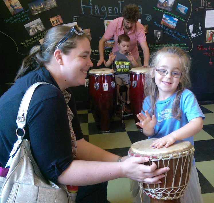 Mosaic Drumming At Cmnh