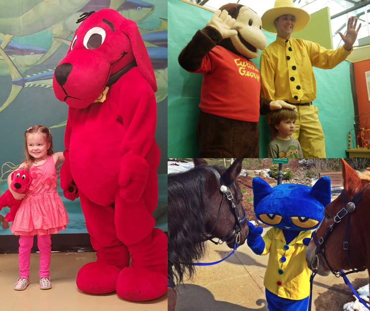 Books Alive with Clifford, Curious George and Pete the Cat!